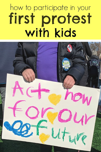 How to Participate in your First Protest March with Kids