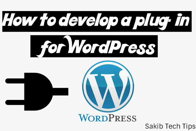 How to develop a plug-in for WordPress
