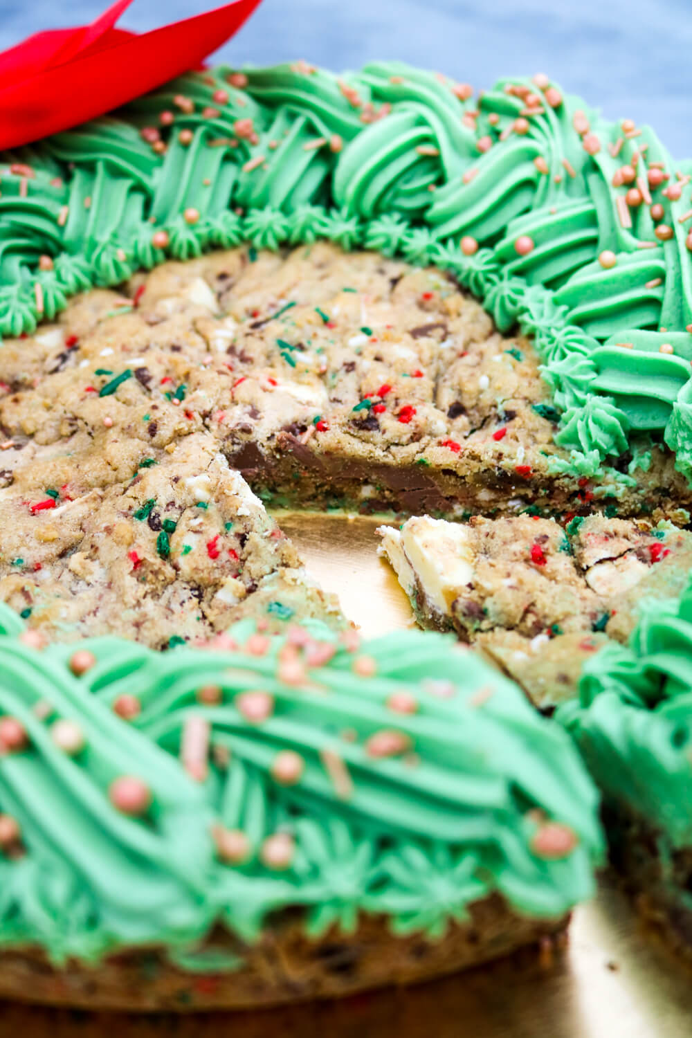 Giant Christmas Cookie   Take Some Whisks