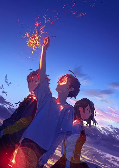 Filme de anime 'Summer Ghost' tem Trailer, Staff e Data de Estreia Revelada