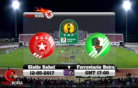 مشاهدة مباراة النجم الساحلي و فيروفيارو دا بيرا اليوم 12-5-2017 دوري أبطال أفريقيا