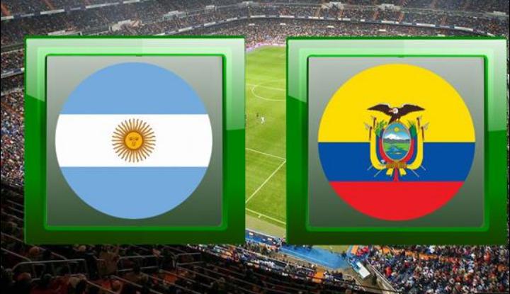 مباراة الارجنتين والاكوادور اليوم