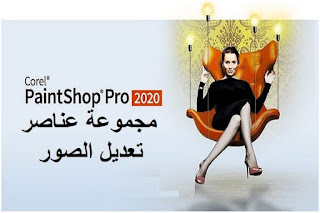 Corel PaintShop Pro 2020 مجموعة عناصر تعديل الصور