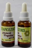 Solución de propóleos al 5% ecoapicultores