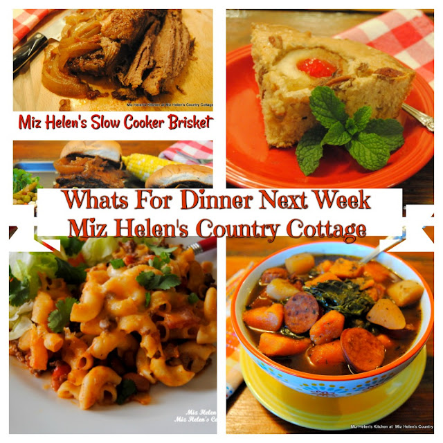 Whats For Dinner Next Week, 12-13-20 at Miz Helen's Country Cottage