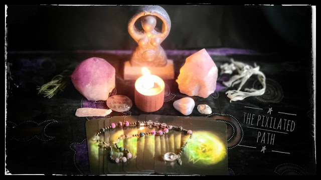 Oracle Card Reading using The Sidhe Oracle of the Fleeting Hare