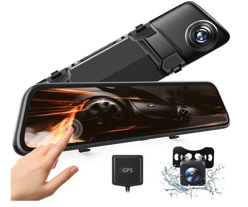 VANTΟP 2.5K Mirror Dash Cam Parking Monitor