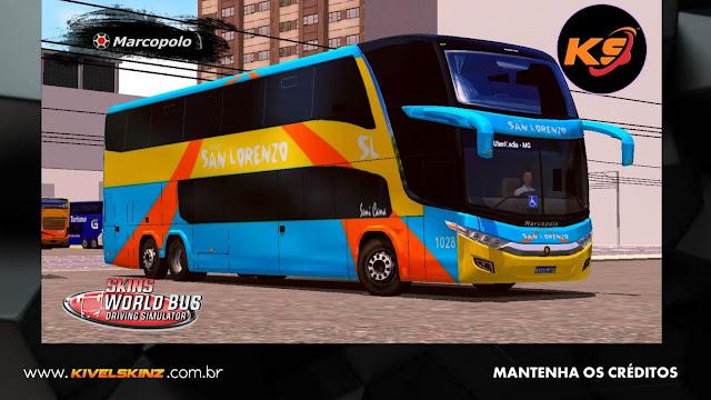 PARADISO G7 1800 DD 6X2 - VIAÇÃO BUSES LORENZO (CHILE)