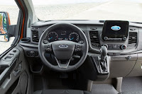 Ford Transit Custom Panel Van (2018) Dashboard