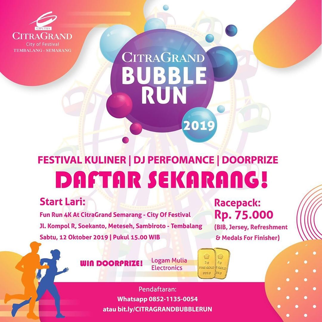 CitraGrand Bubble Run • 2019