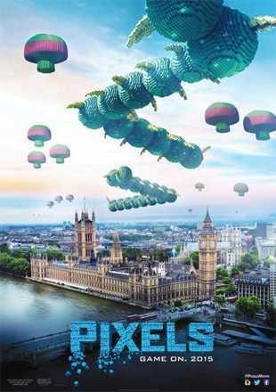 Pixels 2015 BRRip 720p Dual Audio In Hindi English