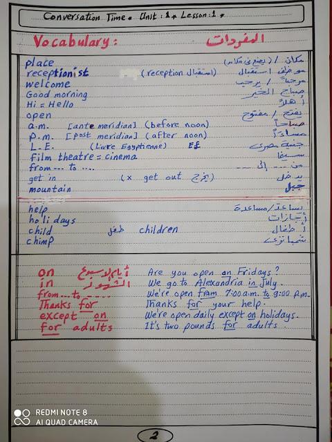 لغة انجليزية الصف السادس الابتدائي..  شرح مستر/ Mahmoud Ayesh 2
