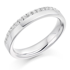 Cheap 18Ct White Gold Wedding Rings