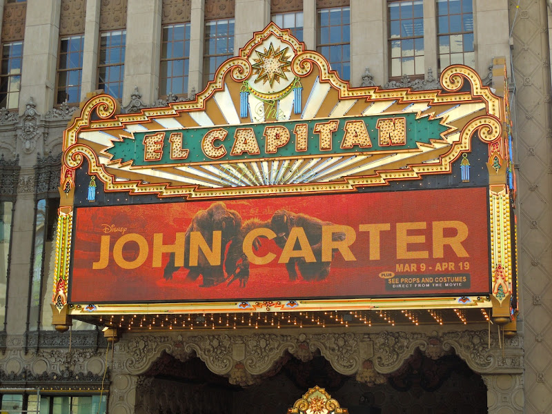John Carter El Capitan Theatre