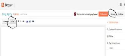 Cara membuat daftar isi blogger Terbaru Keren
