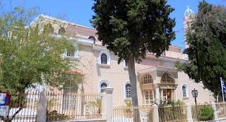 ο ορθόδοξος ναός της Μεταμόρφωσης του Σωτήρος στην Ερμούπολη