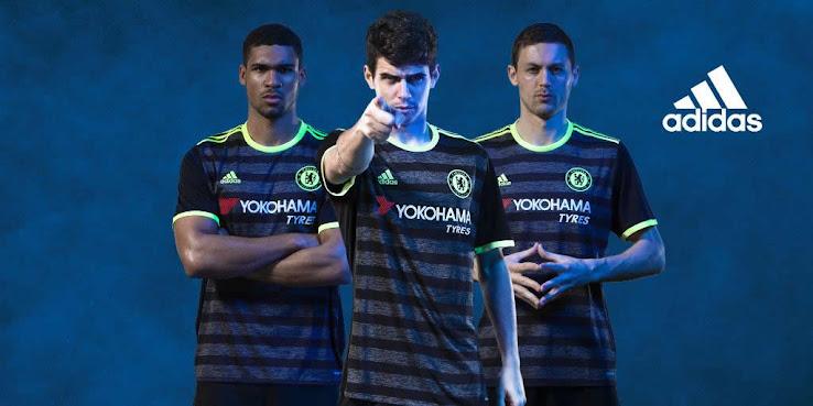 camiseta suplente Chelsea 16-17