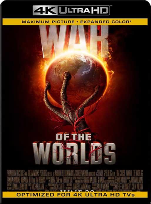 La Guerra de los Mundos (2005) 4K 2160p UHD [HDR] Latino [GoogleDrive]
