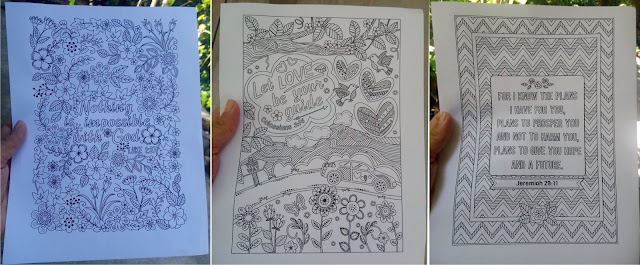 3 Bible Coloring Pages