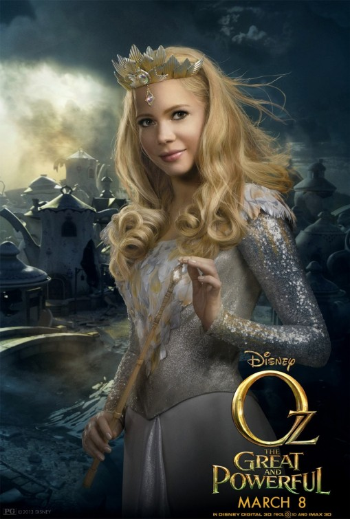 Oz Great and Powerful Glinda poster