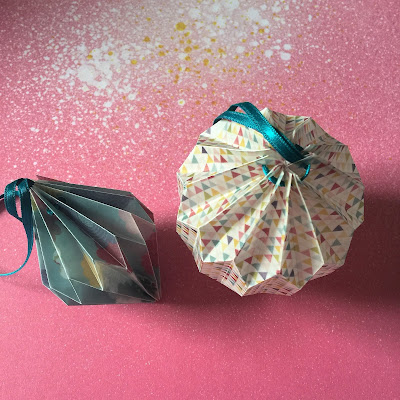 Origami Lantern gallery - printed vellum.  Tutorial using Silhouette Cameo by Nadine Muir from Silhouette UK Blog