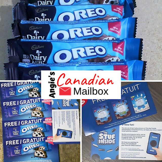 Free Oreo prizes in the mail