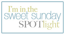 SO honoured to be in the Sweet Sunday SPOTlight!