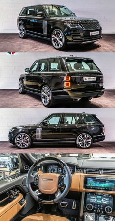 Various Designs of Range Rover Models