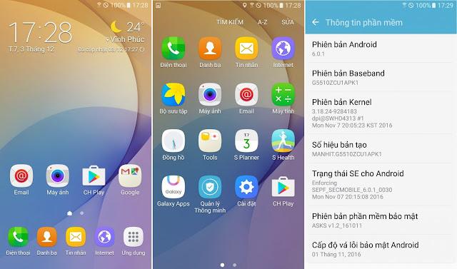ROM global Galaxy On5 SM-G5510: fix full, full CH play, full TIẾNG VIỆT, fix GPS