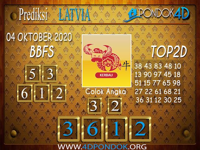 Prediksi Togel LATVIA PONDOK4D 04 OKTOBER 2020