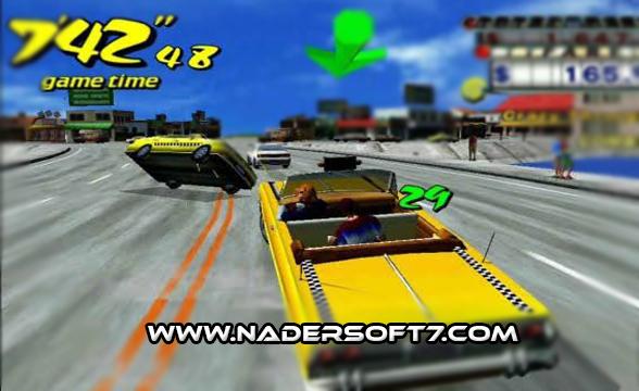 تحميل لعبه التاكسي المجنون crazy taxi الاصليه كامله للكمبيوتر