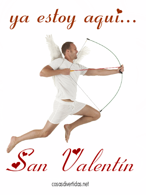 Cupidos divertidos para San Valentín