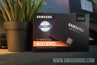Samsung 860 EVO 500GB Indonesia