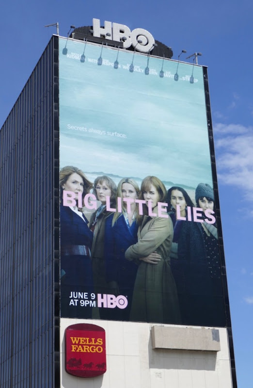 Giant Big Little Lies season 2 billboard