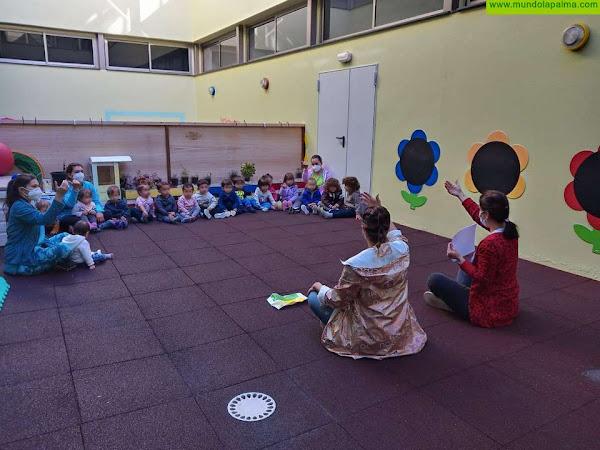 La Escuela Infantil Municipal de Tijarafe se lanza a la aventura de signar