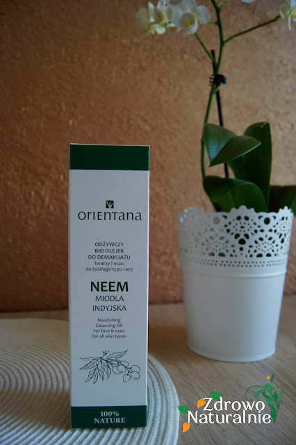 Orientana - Odżywczy Bio olejek do demakijażu - NEEM Miodla INDYJSKA