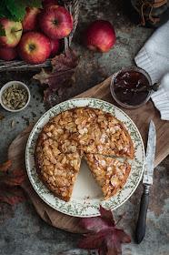 Gâteau aux pommes cardamome, cannelle