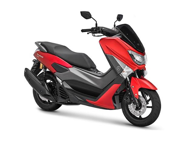 Yamaha Nmax Matte Red, Warna Baru Lebih Tampil Trendi