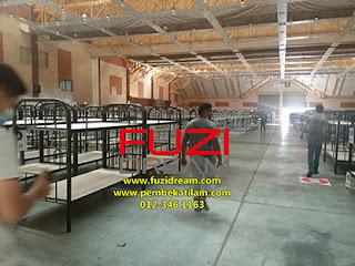 supplier katil double decker