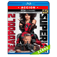 Deadpool 2 (2018) Super Duper Cut 4K UHD Audio Dual Latino-Ingles