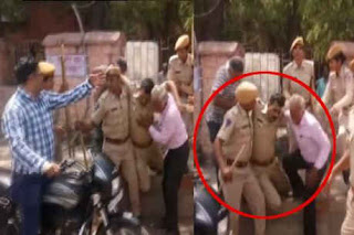 जोधपुर में बेकाबू भीड़ ने मचाया कोहराम, मौके पर तैनात सब इंस्पेक्टर को हार्ट अटैक-Jodhpur-the-uncontrollable-crowd-did-the-marchy-the-sub-inspector-posted-on-the-spot