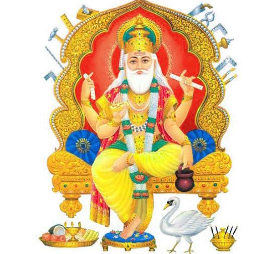 vishwakarma god pic