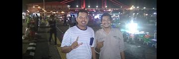 Wisata malam di BKB Palembang