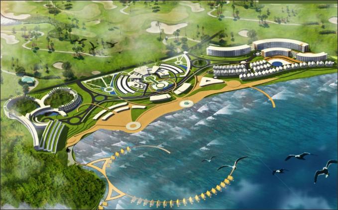 desain resort eco living community