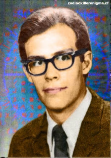 The Zodiac Killer Enigma Bryan Hartnell Colorized by Randall Clemons