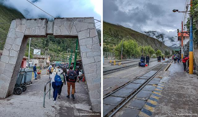 Trem para Machu Picchu, Estação de Ollantaytambo
