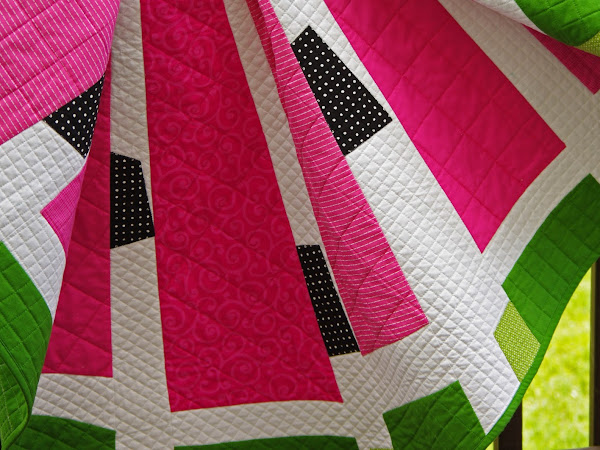 Watermelon Wedge Quilt