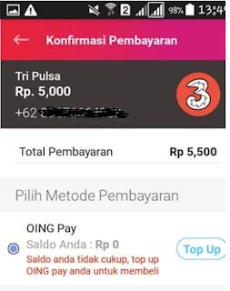 cara mendapatkan pulsa gratis di android Oktober 2018