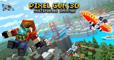 Pixel Gun 3D: Shooting Online Apk + Data for Android