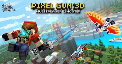Pixel Gun 3D: Shooting Online Apk + Data for Android